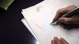 Learn to draw fashion illustration, a bad job, not asmr