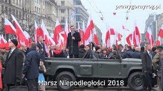 Marsz Niepodległości 2018 - Przemówienie Prezydenta Andrzeja Dudy