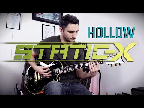 Static-X 'Hollow' GUITAR COVER (NEW SONG 2020)