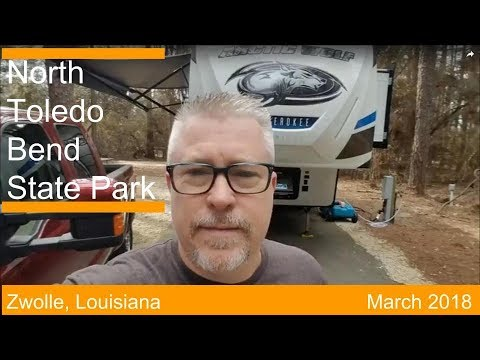 Best RV Destination in Louisiana!! | North Toledo Bend State Park | Louisiana State Parks