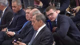 Смотреть видео Ответ на вопрос СМИ С.Лаврова для программы