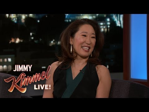 Sandra Oh on Shooting Killing Eve