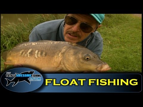 Float fishing with maggots - Totally Awesome Fishing Show