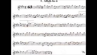 Baixar Marchinha de Carnaval Allah La O Partitura Playblack SAX ALTO