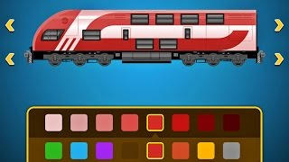 Build a Train 2 - Railroad Game App for Kids - iPad iPhone iPod Touch