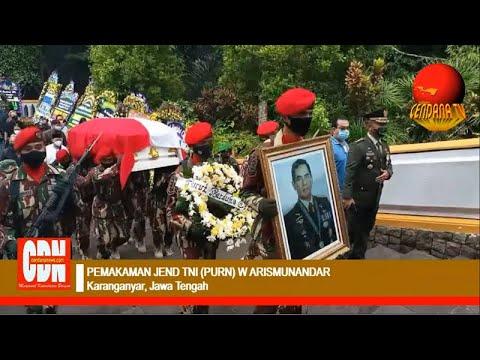 PEMAKAMAN JENDERAL TNI (PURN) W ARISMUNANDAR