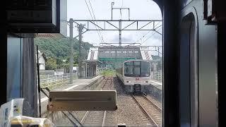 【鉄道】811系PM8105編成《RED EYE》が福北ゆたか線で試運転
