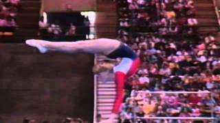Kristie Phillips - Balance Beam - 1986 McDonald's American Cup