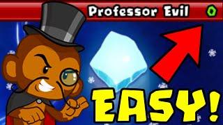 How to Beat Tнe NEW Professor Evil Challenge in BTD Battles | Week 51