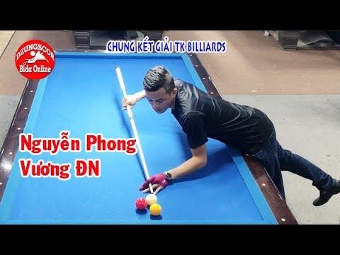 BIDA ONLINE - 당구 - Chung kết: Phong nhỏ vs Vương ĐN - Giải libre - billiards TK