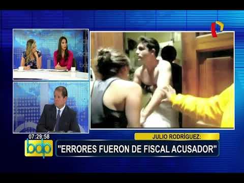 """Julio Rodríguez sobre sentencia en caso Arlette Contreras: """"Errores fueron del fiscal acusador"""""""