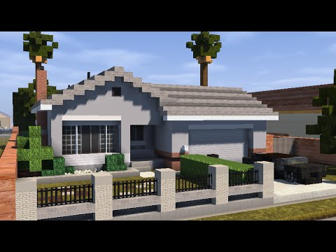 Minecraft House building timelapse YouTube