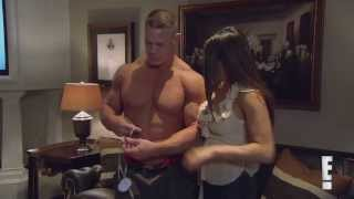 Total Divas Season 1, Episode 13 clip: John and Nikki test out his muscle stimulator