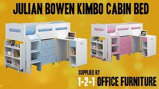 Julian Bowen Kimbo Cabin Bed Supplied By 121 Office Furniture