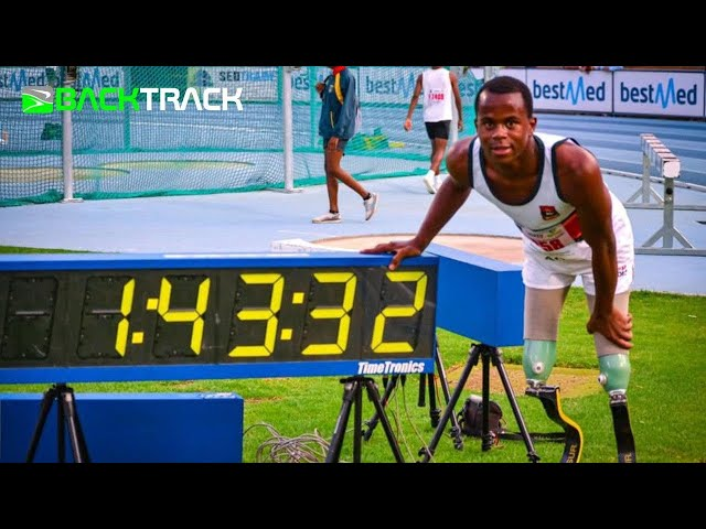 Ntando Mahlangu Fastest 800m on SA soil - 1:43.31!!!