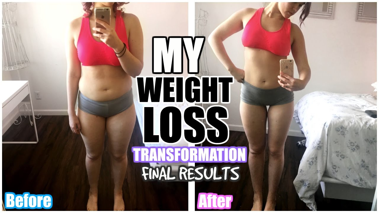 MY 8 MONTH WEIGHT LOSS BODY TRANSFORMATION!
