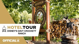 Disney's Davy Crockett Ranch - Hotel Tour à Disneyland Paris ✨