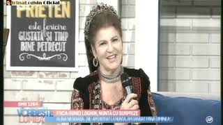IRINA LOGHIN - DESPRE IRINUCA SI CIPRIAN - 09.10.2018