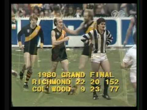 "AFL Richmond Football Club Song - Kevin ""Hungry"" Bartlett Tribute"