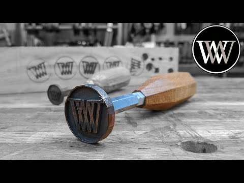Making a Branding Iron For Woodworking