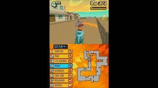Cartoon Network Racing-Spiel, Teil 15, Blume, Auto (Nintendo DS versio-kart-speed-flipped-out)