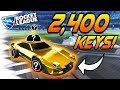 Rocket League Gameplay: $2,400 GOLD CAR! - Trading/Velocity Crate Items (Imperator DT5 Best Goals)