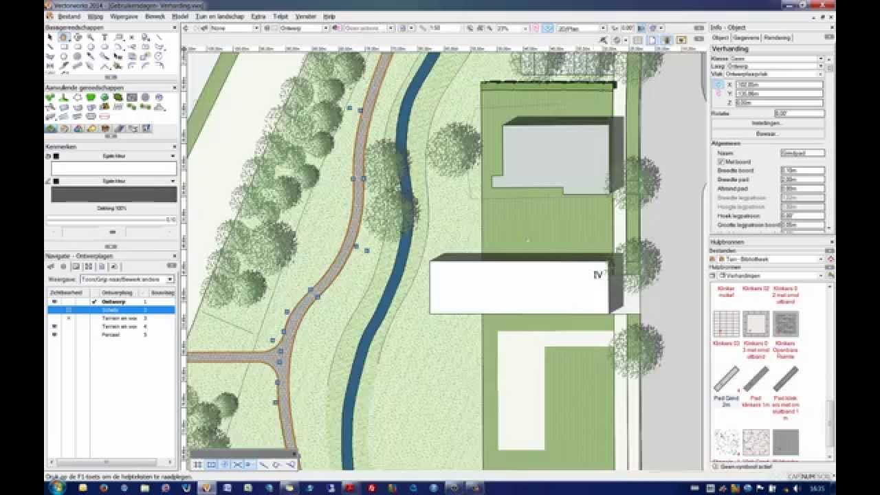 workflow voor vectorworks tuin landschap youtube