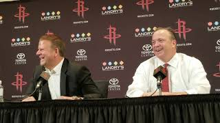 Tilman Fertitta - Houston Rockets Media Day 2018
