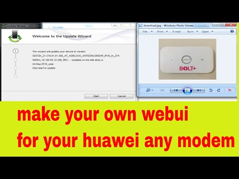 Make Your Own Webui How To Make Webui Dashboard For Any Huawei Modem