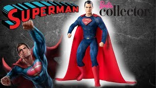 Кукла СУПЕРМЕН / Коллекционный Кен. Обзор Barbie Collector Batman v Superman/ Superman Doll