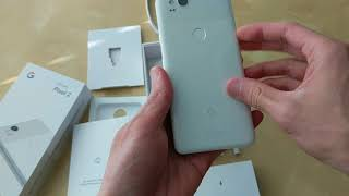 Google Pixel 2 Unboxing (Clearly White)
