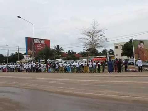 Gaddafi's Arrival in the Gambia