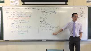Powers of a Complex Number (example question)