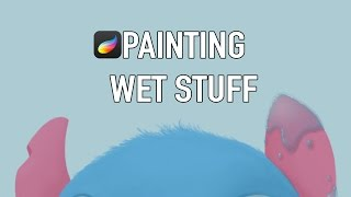 Water Tutorial #1 How to Draw: Wet Objects