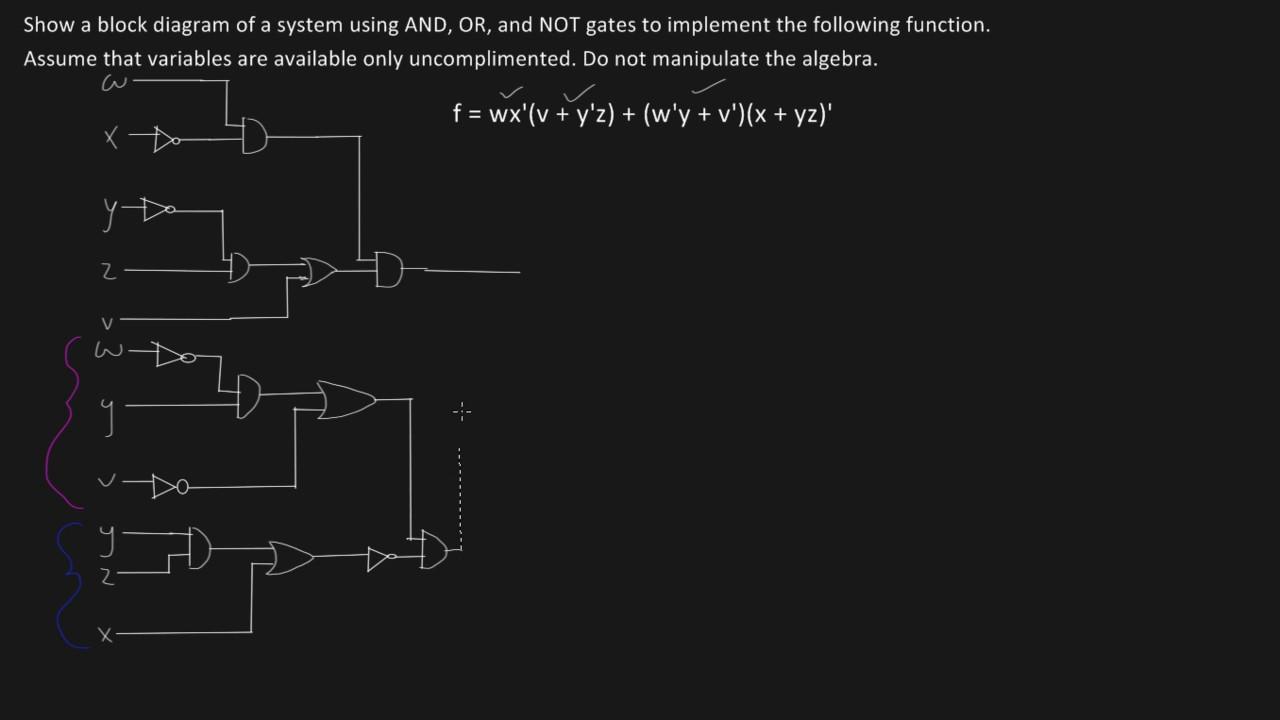 Logic Gate Circuit Youtube Diagram Of A