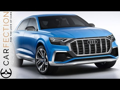 Audi Q8 Concept: Look Out BMW X6 - Carfection