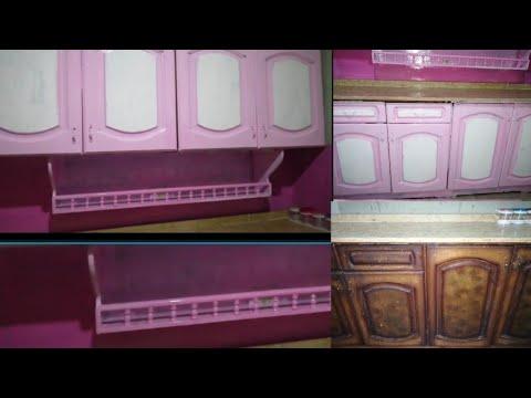 تجديد مطبخ قديم بأعادة دهان خشب الارو Doaa Asfour Designs Facebook