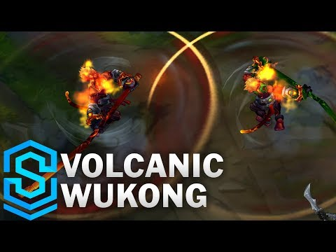 Volcanic Wukong (2020) Skin Spotlight - League of Legends
