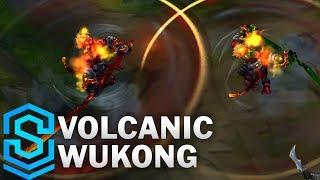 Volcanic Wukong (2020) Skin Spotlight - League of Legends