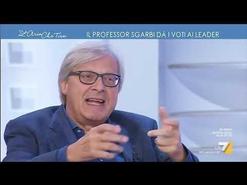Vittorio Sgarbi dà i voti ai protagonisti della crisi: 'Conte bisessuale, Spadafora ...