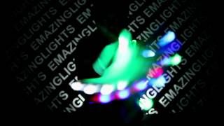 Panda - Northern Lites Glove Set Glove Light Show [EmazingLights.com]