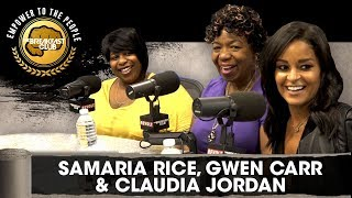 Claudia Jordan, Samaria Rice & Gwen Carr Discuss 'Jason's Letter' Film, Police Injustice & More