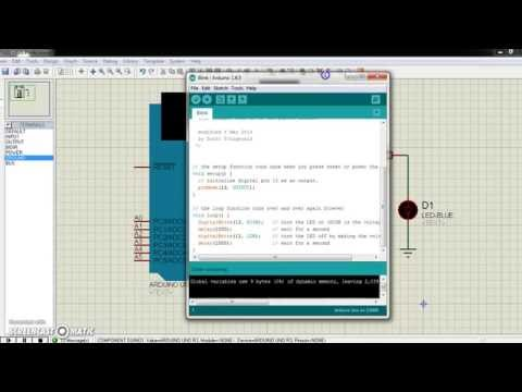 Tutorial : How To Simulate Arduino Program With Proteus?