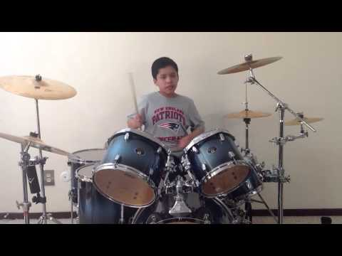 New England Patriots Touchdown Song by Bon Jovi Drum Cover