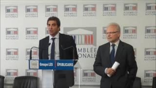 Conférence de Presse du Président Christian Jacob du 18/10/2016