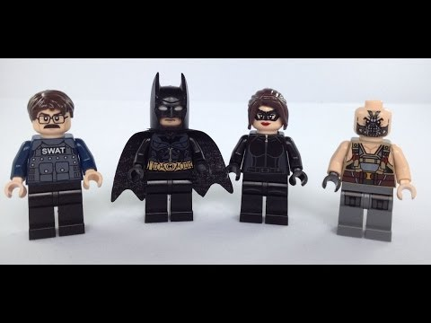 **NEW** DRAGON BRICK Custom The Dark Knight Returns Batman Lego Minifigure
