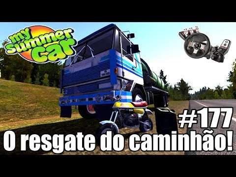 My Summer Car - TIREI O CAMINHÃO DO PREGO! #177 ‹ Getaway Driver ›