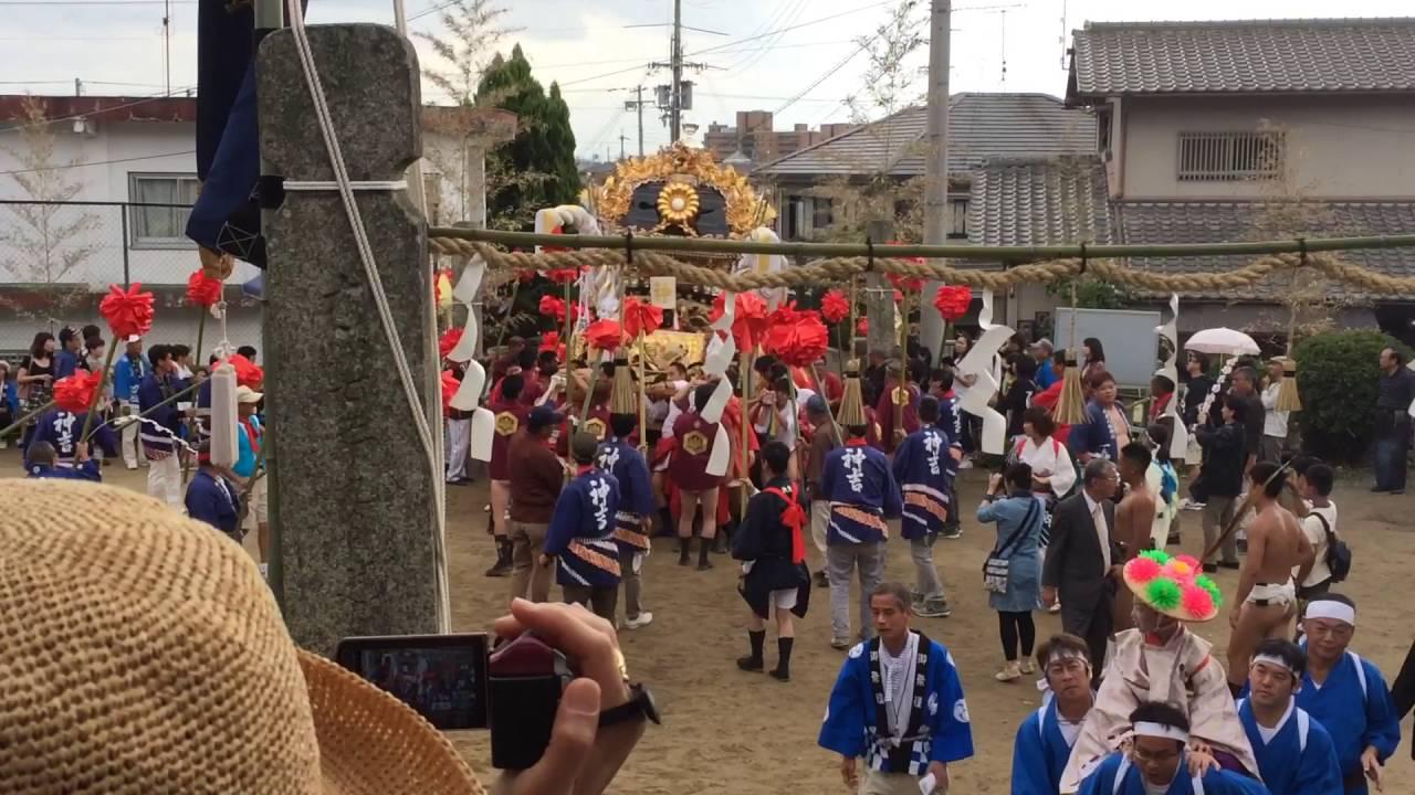 2016年(平成28年)播州加古川神吉村 秋祭り@下宮