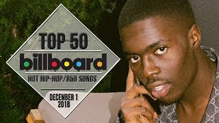 Top 50 • US Hip-Hop/R&B Songs • December 1, 2018 | Billboard-Charts