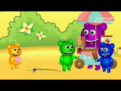 Mega Gummy Bear Baby Missing From Heavy Storm Funny Cartoon Finger Family Nursery Rhymes #Boyd